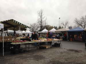 Last day of the Ottawa Farmer's Market.
