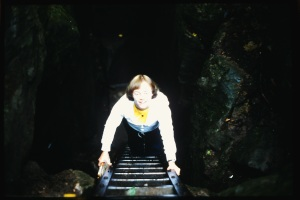 Mom at Scenic Caves... Can't lie - kinda want to put on some big glasses and recreate this photo.