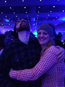 Me and my favourite lumberjack