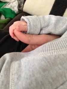Little fingers, meet big thumb.
