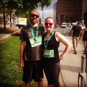 We're runners!